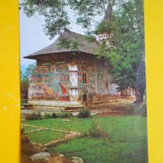 HOPCT 17363 BISERICA VORONET -JUD SUCEAVA -NECIRCULATA - Carte Postala Bucovina dupa 1918, Printata