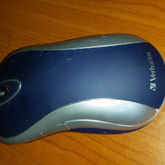 Mouse Verbatin fara fir 2.4 GHz fara adaptor netestat