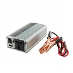 Incarcator Laptop - Whitenergy invertor DC/AC de la 12V DC la 230V AC 400W, USB
