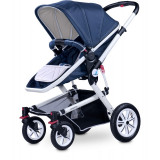 Carucior copii 3 in 1 - Caretero COMPASS 3 in 1 Navy