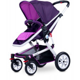Carucior copii 3 in 1 - Caretero COMPASS 3 in 1 Purple