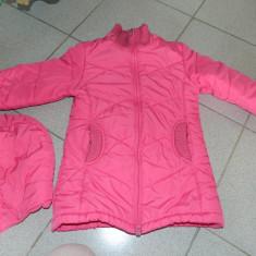 Geaca de iarna fetite, marimea 4-6 ani, lunga peste fund. COMANDA MINIMA 30 lei!, Culoare: Roz, Fete