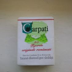 Pachet tigari - Tigari Carpati stare foarte buna