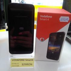 VODAFONE SMART 4 (LEF) - Telefon mobil Vodafone, Negru, Nu se aplica, Neblocat, Fara procesor