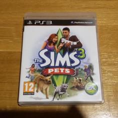 PS3 The Sims 3 Pets - joc original by WADDER - Jocuri PS3 Ea Games, Simulatoare, 12+, Single player