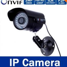 Camera ip 1080p 36 leduri full hd h264 3MP bullet ir cut onvif carcasa aluminiu