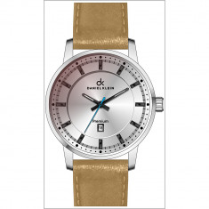 Ceas Barbatesc Daniel Klein - DK - 10608 - 5 - LICHIDARE DE STOC, Fashion, Quartz, Inox, Piele, Data