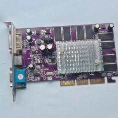 Placa video Geforce4 Mx440 8x 128MB DDR1 32 bit - Placa video PC ATI Technologies