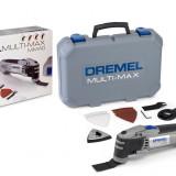 Unealta multifunctionala DREMEL Multi-Max MM40 cu accesorii si geanta de depozitare