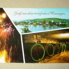 Pivnita de vin - artificii - pitoresc - Germania - 2+1 gratis - RBK13809 - Carte postala tematica, Circulata, Fotografie