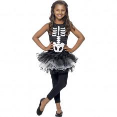 Costum Skeleton fetite 10-12 ani - Carnaval24 - Costum petrecere copii