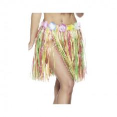 Costum petrecere copii - Fusta Hula Hawaii 50 cm - Carnaval24