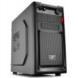 "CARCASA DEEPCOOL mATX Mini-Tower, front audio &amp 1x USB 3.0, 1x USB 2.0, black ""SMARTER"""