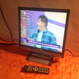 TV LCD 17 INCH LENOIR TVC1743LCD + TELECOMANDA - Televizor LCD, Sub 19 inchi