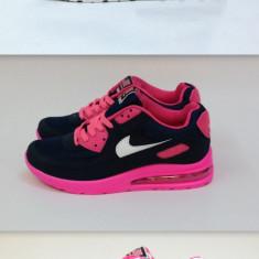 Adidasi Nike Air Max - Adidasi dama Nike, Marime: 37, 38, 39, 40, Culoare: Gri, Indigo, Piele sintetica