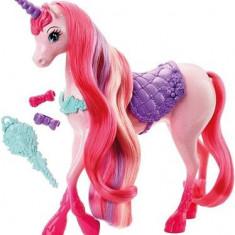 Jucarie Barbie Fairytale Endless Hair Kingdom Unicorn - Jucarii