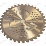Disc taietor motocoasa 255 x 40T x 25.4mm (cu aripioare)