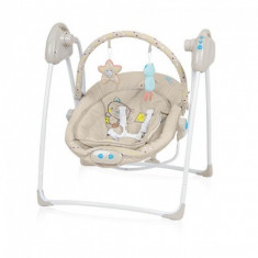 Leagan electric Loko Beige Baby Design - Balansoar interior