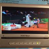 Televizor LCD, Sub 19 inchi, Intrare RF - MINI TV LCD 7 INCH MATSUI MAT7L2656E NOU LA CUTIE