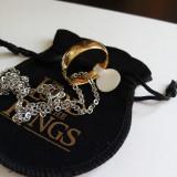 Inel / Pandantiv  Lord Of The Rings Placat Cu Aur 18k