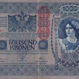 Bancnota Straine, Europa, An: 1902 - AUSTRIA 1.000 kronen 1902 F+/VF-!!!