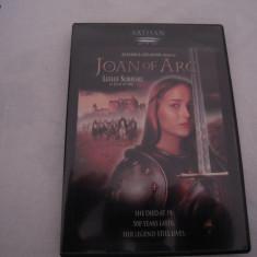 DVD original Film: Joan Of Arc - LEELEE SOBIESKI, adus din SUA sistem NTSC - Film drama, Engleza