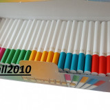 Tuburi ROLLO 200 tuburi tigari / cutie de injectat tutun, filtre tigari