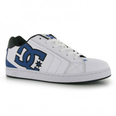 Adidasi barbati Dc Shoes, Piele naturala - Adidasi tenisi tenesi skate DC Shoes Net ORIGINALI masura 41