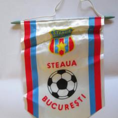 Fanion fotbal - FANION STEAUA BUCURESTI ANII 80