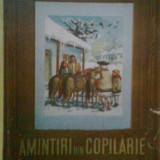 ION CREANGA - AMINTIRI DIN COPILARIE -ILUSTRATII DE COCA CRETOIU (1952)