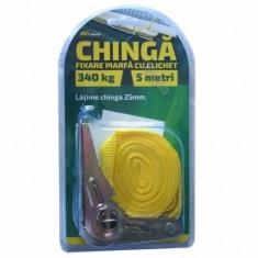 Chinga cu clichet fixare marfa RoGroup, 340 kg, 5 m, 1 buc - Sufa Auto