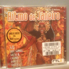 RITMO DE JANEIRO -Various Artists -2cd set/stare: FB/Original(1997/SONY/GERMANY) - Muzica Dance sony music