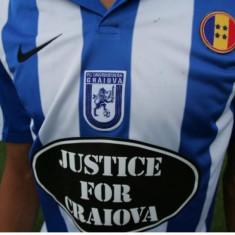 Tricou de fotbal original Nike oficial Universitatea Craiova - Set echipament fotbal Nike, Marime: S/M