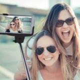 Selfie Wireless Monopod Manta MA421 (maner telescopic) universal, conexiune bluetooth negru