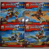 Jocuri de construit tip Lego Ninjago JX80010 Nya Master Wu Doubloon Flintlocke - Jocuri Seturi constructie, 4-6 ani, Baiat