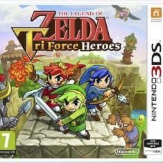 Jocuri WII U - The Legend Of Zelda Tri Force Heroes Nintendo 3Ds