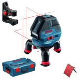 Nivela optica - BOSCH GLL 3-50 Nivela laser cu linii + BM 1 Suport + L-BOXX 0601063802