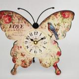 Ceas de masa - Fluture - Produs Nou - LICHIDARE DE STOC
