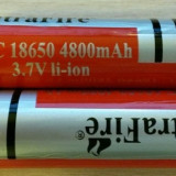 Acumulatori Li-Ion Cilindrici NOI Tip 18650 4800mAh 3.7V