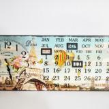 Ceas de masa cu calendar - Produs Nou - LICHIDARE DE STOC