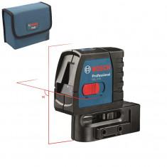 Nivela optica - BOSCH GLL 2-15 Nivela laser cu linii (15 m) NOU! 0601063701