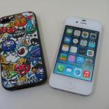 iPhone 4 16gb neverlocked alb decodat iOS 7.1.2 + BONUS husa silicon
