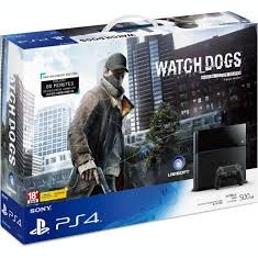 PS4 Watch Dogs Edition 1Tb + The Order 1886, FIFA16 & Rainbow Six Siege - PlayStation 4 Sony