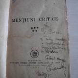 PERPESSICIUS (dedicatie/semnatura)- Mentiuni critice. 1946 - Carte veche