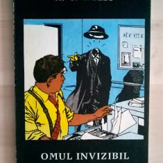 H. G. Wells - Omul invizibil - Carte SF