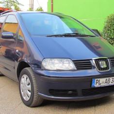Seat Alhambra, 1.9 TDI Diesel, an 2001, Motorina/Diesel, 1 km, 1898 cmc
