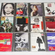 Colectie Mini disc SONY originale cu muzica complete - 12 bucati