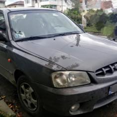 HYUNDAI ACCENT 2001 INMATRICULAT TAXA NERECUPERATA UNIC PROPRIETAR, Benzina, 168800 km, 1300 cmc