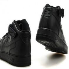 Ghete Nike Air Force 1 Barbati negru - Ghete barbati Nike, Marime: 37, 38, 39, 40, 41, 42, 43, 44, Culoare: Din imagine, Piele sintetica