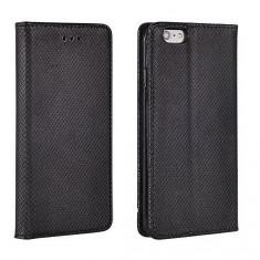 HUSA HTC DESIRE 626 NEGRU SMART MAGNET - Husa Telefon Apple, iPhone 4/4S, Mov, Piele Ecologica, Cu clapeta